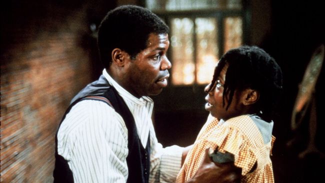 Danny Glover & Whoopi Goldberg in The Color Purple