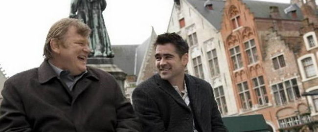 Brendan Gleason & Colin Farrell in In Bruges