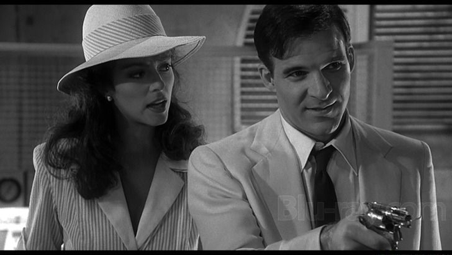 Rachel Ward & Steve Martin in Dead Men Don't Wear Plaid