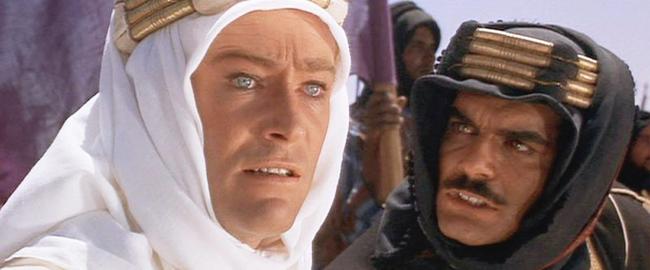 Peter O'Toole & Omar Sharif in Lawrence of Arabia