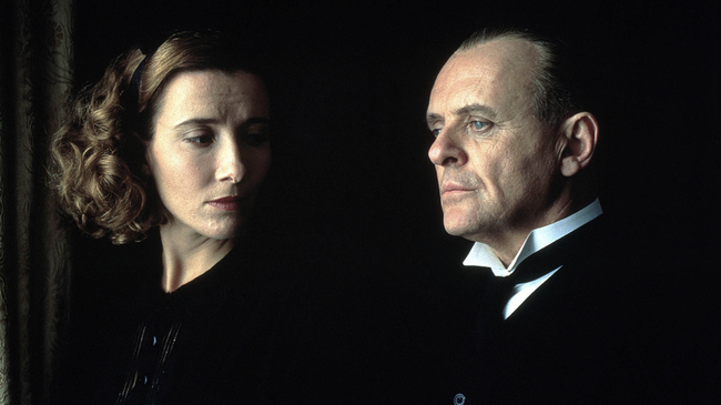Emma Thompson & Anthony Hopkins in The Remains of the Day