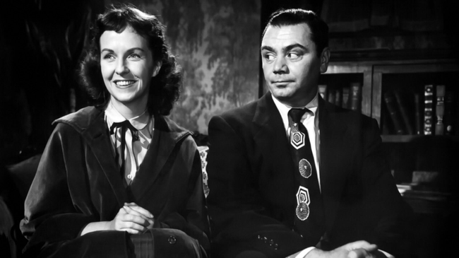 Betsy Blair & Ernest Borgnine in Marty