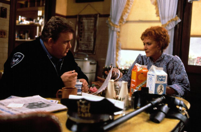 John Candy & Maureen O'Hara in Only the Lonely