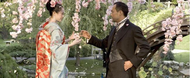 Zhang Ziyi & Ken Watanabe in Memoirs of a Geisha