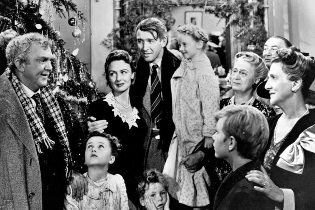 The cast of It's A Wonderful Life