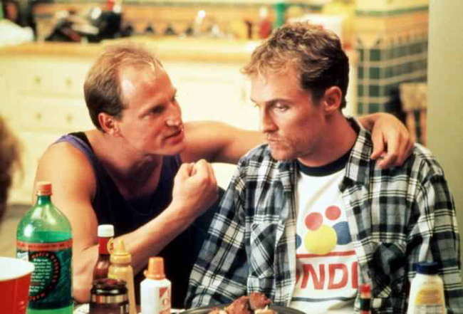 Woody Harrelson & Matthew McConaughey in EdTV