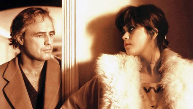 Marlon Brando & Maria Schneider in Last Tango in Paris