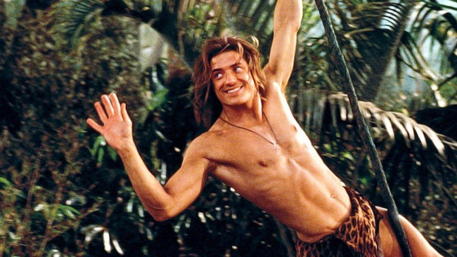 Brendan Fraser in George of the Jungle
