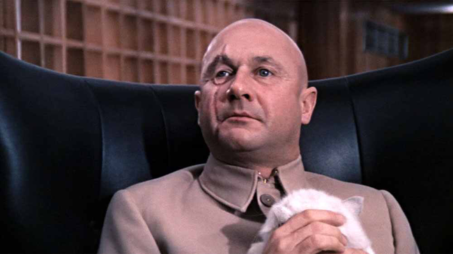 Donald Pleasance in You Only Live Twice