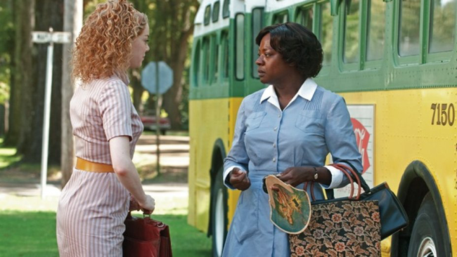 Emma Stone & Viola Davis in The Help