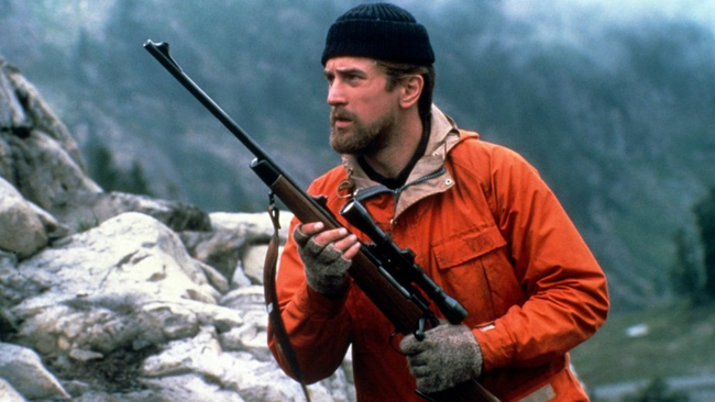 Robert DeNiro in The Deer Hunter