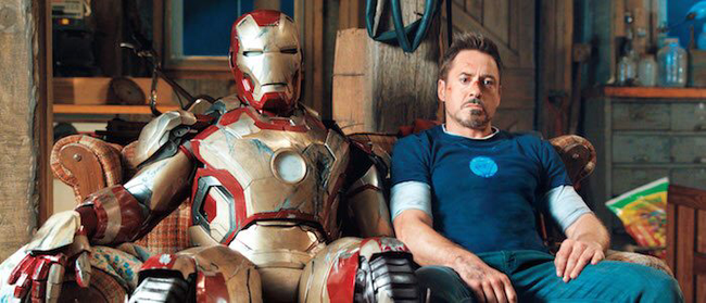 Robert Downey, Jr. in Iron Man 3