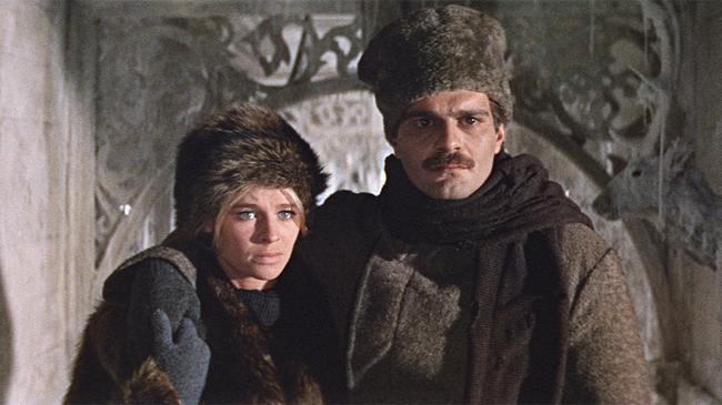 Julie Christie & Omar Sharif in Doctor Zhivago