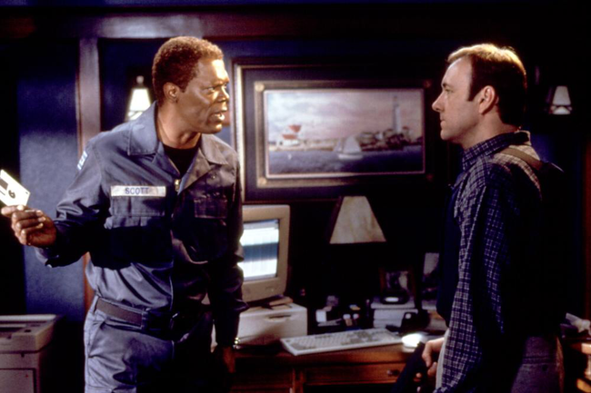 Samuel L. Jackson & Kevin Spacey in The Negotiator