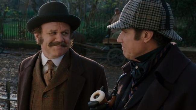 John C. Reilly & Will Ferrell in Holmes & Watson