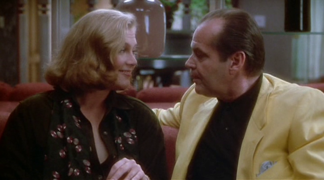 Kathleen Turner & Jack Nicholson in Prizzi's Honor