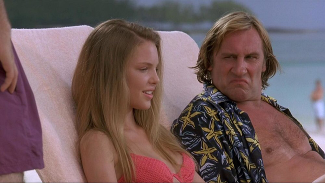 Katherine Heigl & Gerard Depardieu in My Father, The Hero