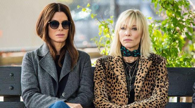 Sandra Bullock & Cate Blanchett in Ocean's 8