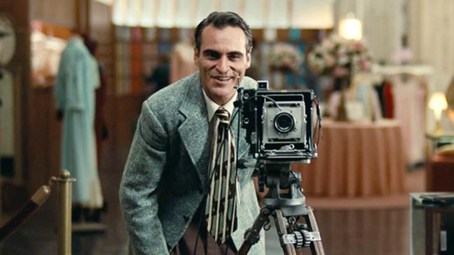 Joaquin Phoenix in The Master