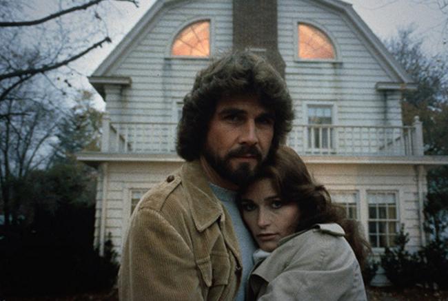 James Brolin & Margot Kidder in The Amityville Horror
