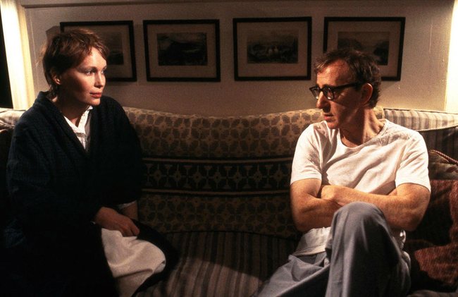 Mia Farrow & Woody Allen in Husbands & Wives