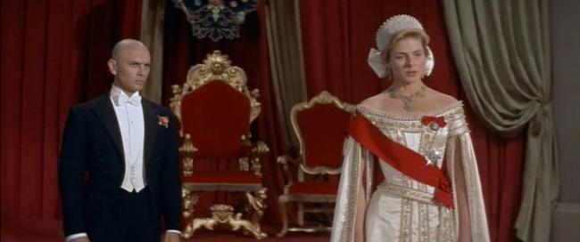 Yul Brynner & Ingrid Bergman in Anastasia