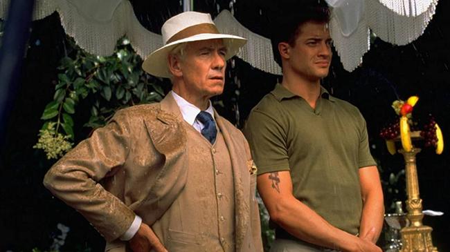 Ian McKellen & Brendan Fraser in Gods & Monsters