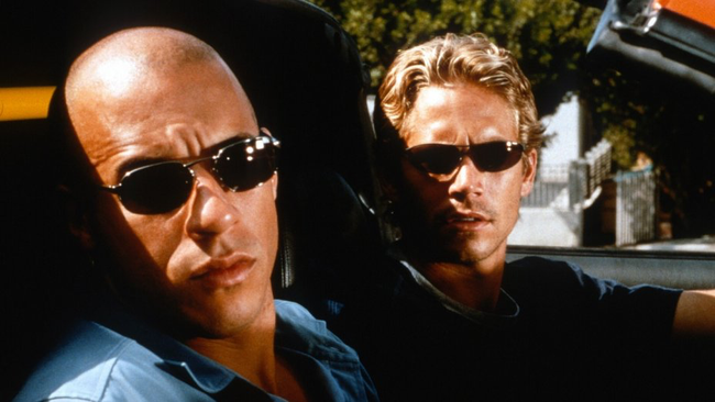Vin Diesel & Paul Walker in The Fast & The Furious