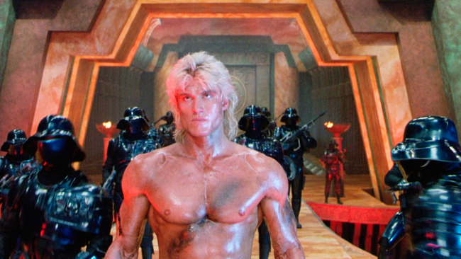 Dolph Lundgren in Masters of the Universe