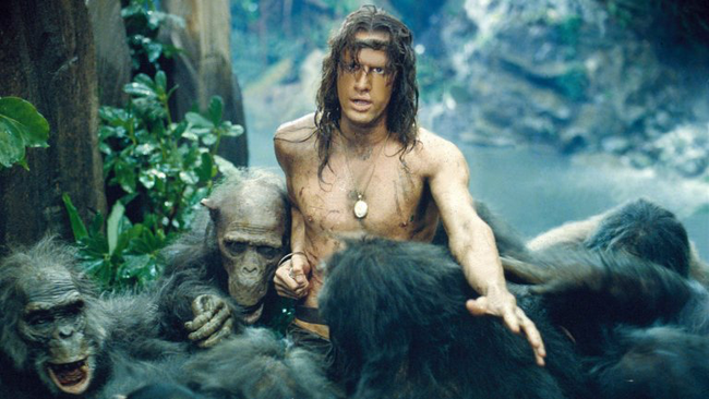 Christopher Lambert in Greystoke: The Legend of Tarzan, Lord of the Apes