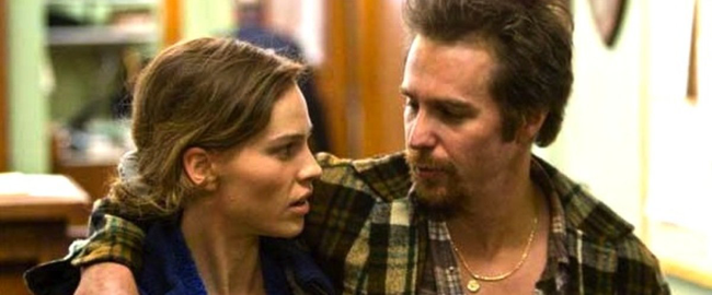 Hilary Swank & Sam Rockwell in Conviction