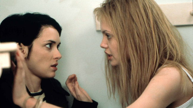 Winona Ryder & Angelina Jolie in Girl, Interrupted