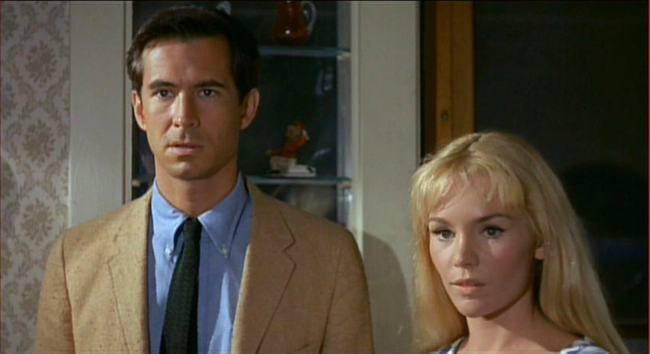 Anthony Perkins & Tuesday Weld in Pretty Poison
