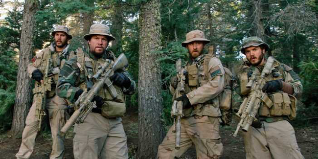 The cast of Lone Survivor
