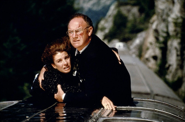 Anne Archer & Gene Hackman in Narrow Margin