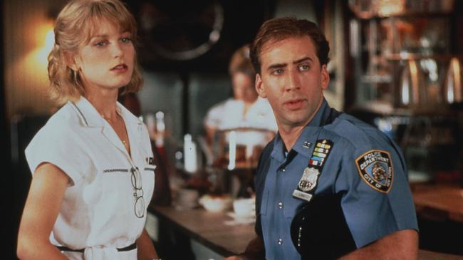 Bridget Fonda & Nicolas Cage in It Could Happen to You