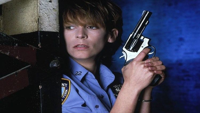 Jamie Lee Curtis in Blue Steel