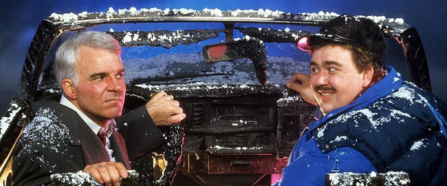 Steve Martin & John Candy in Planes, Trains & Automobiles
