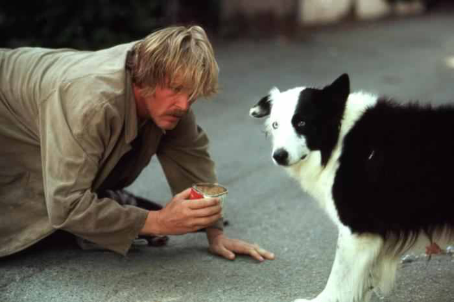 Nick Nolte in Down & Out in Beverly Hills