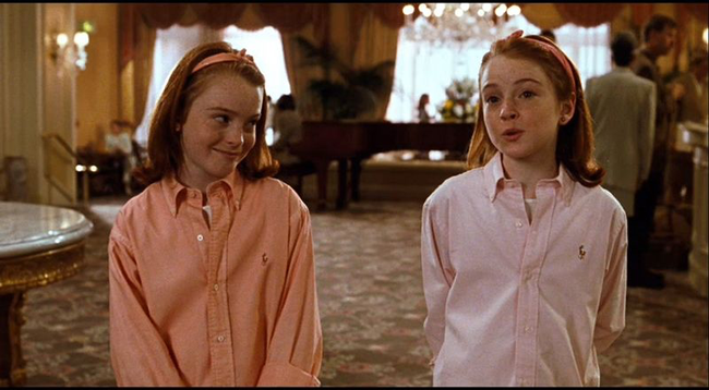 Lindsay Lohan (& Lindsay Logan) in The Parent Trap