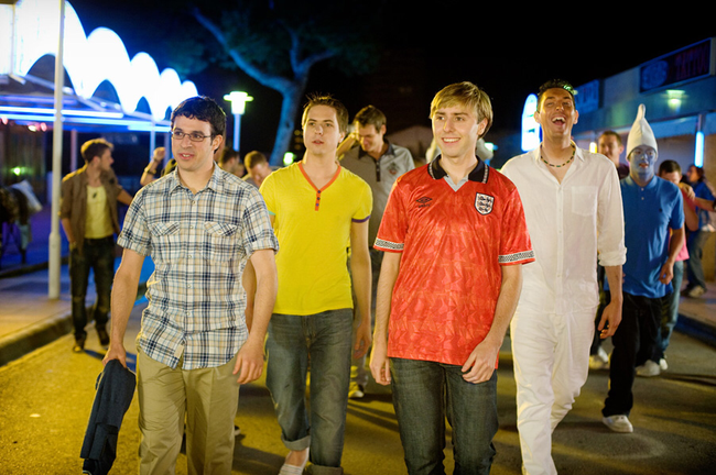 The cast of The Inbetweeners Movie