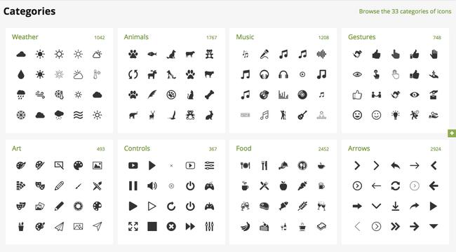 Flaticon cuenta con una gran variedad de iconos