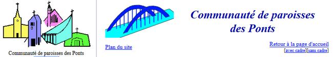 Communauté de paroisses des ponts