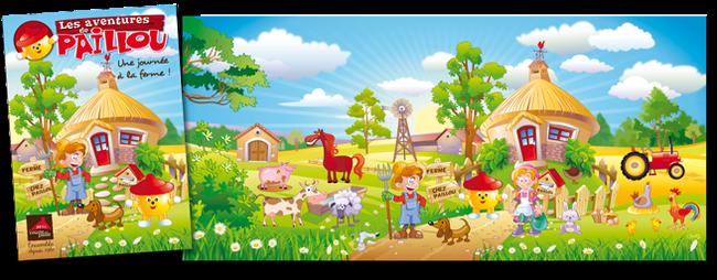 Illustration jeux enfant