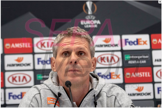 13.2.2019 SK Rapid Training and Press Conference