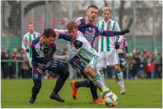 19.1.2019 Test Match - SK Rapid v FAC Wien 1:0 (1:0)