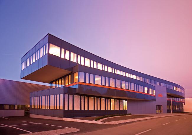 Neue Heimat: die KTM-Zentrale in Mattighofen.