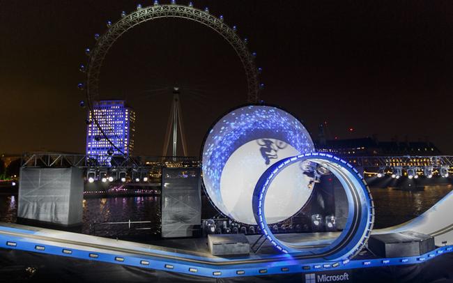 Danny MacAskill loopt sich in die Herzen der Londoner © Rasolution