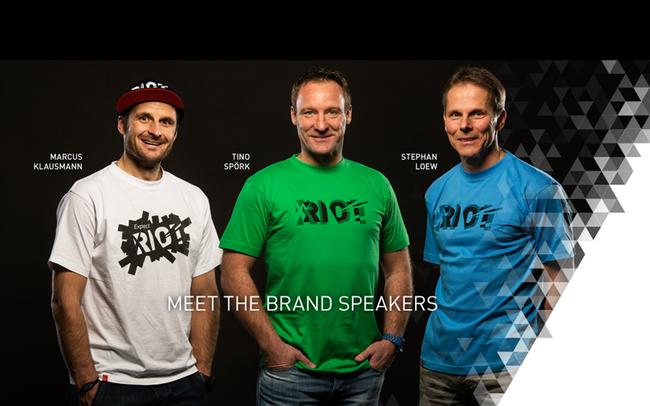Marcus Klausmann, Tino Spörk und Stephan Loew © Ghost Bikes