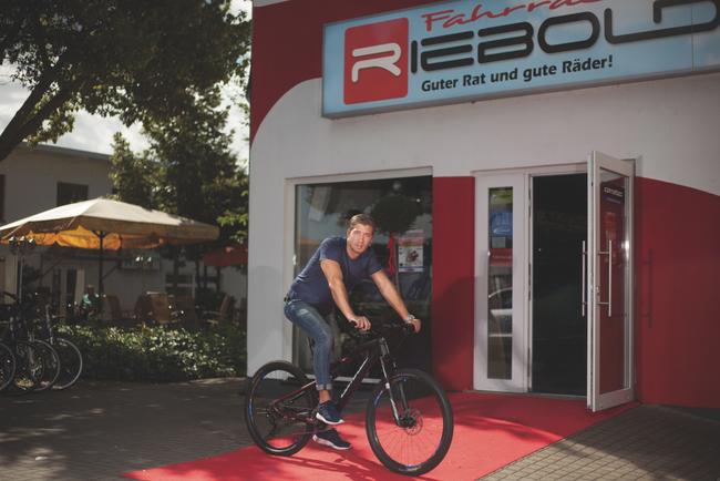 Familienunternehmen: Seit 1906 betreibt Familie Riebold ein Fahrradgeschäft.